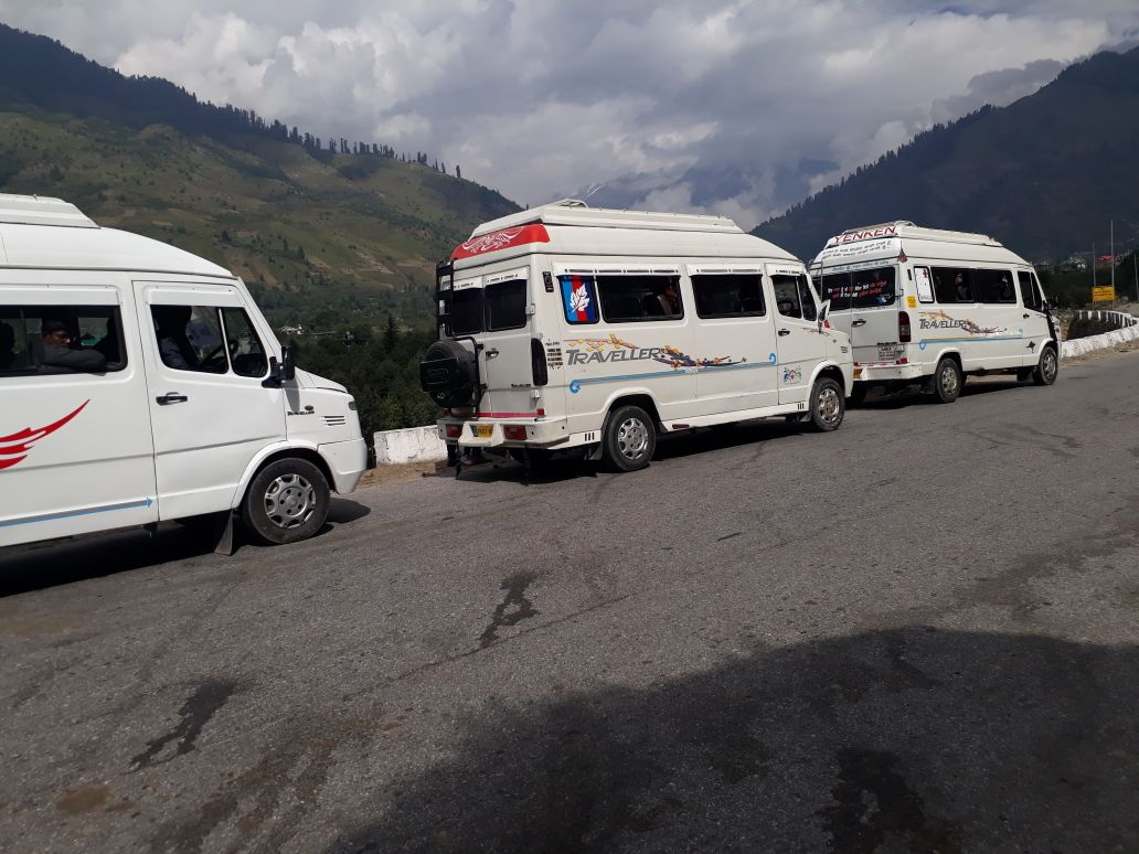 12 seater Tempo Traveller in Chandigarh