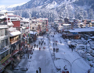 Chandigarh to Manali Taxi Rentals