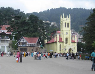 Chandigarh to Shimla Taxi Rentals